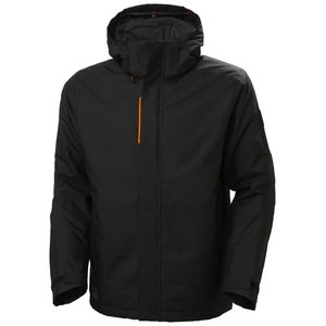 Winter jacket Kensington, hooded, black, Helly Hansen WorkWear