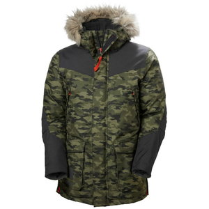 Winter jacket parka Bifrost, hooded, Camo 2XL, , Helly Hansen WorkWear