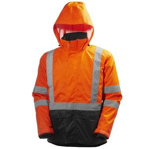 Kõrgnähtav talvejope Alta CIS 4-in-1, oranž/must, Helly Hansen WorkWear