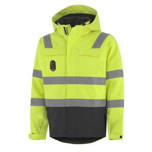 Winter jacket Aberdeen, HI-VIS yellow/charcoal, Helly Hansen WorkWear