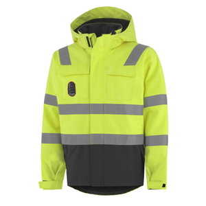 Žieminė striukė  Aberdeen, geltona/tamsiai  pilka, Helly Hansen WorkWear