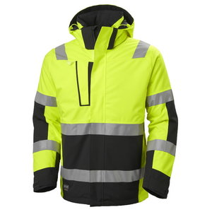 Winter jacket Alna 2.0, Hi-viz CL3, yellow/black, Helly Hansen WorkWear