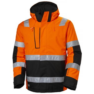Žieminė striukė ALNA WINTER, orange/black 2XL, Helly Hansen WorkWear