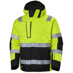 Kõrgnähtav talvejope Alna kollane/must 2XL, Helly Hansen WorkWear