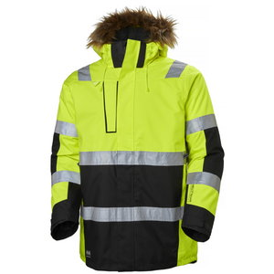 ALNA winter parka HI-VIS, yellow/ebony M, Helly Hansen WorkWear