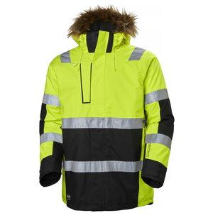 Talvejope parka Alna kõrgnähtav CL3, kollane/must M, Helly Hansen WorkWear