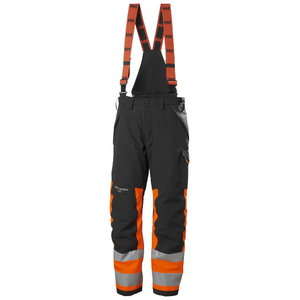 Puskombinezonis žieminis ALNA 2.0, CL 1, oranžinė/juoda, Helly Hansen WorkWear