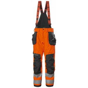 Žieminės  kelnės ALNA 2.0 CONST CL2, orange/back, Helly Hansen WorkWear