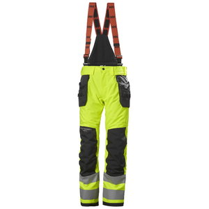 Žieminės  kelnės ALNA 2.0 CONST CL2, geltona/juoda, Helly Hansen WorkWear