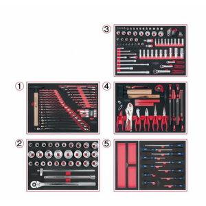 Tööriistakomplekt SCS, 171 pcs