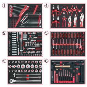 Įrankių rinkinys  mechanikui  310-vnt SCS, KS tools