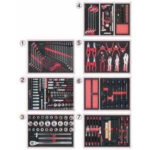 Tool set for vehicle mechanic 316-pcs SCS, KS Tools
