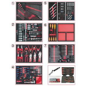 Įrankių rinkinys  mechanikui  665-vnt SCS, KS tools