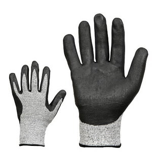 Gloves, cut resistant with nitrile cover, class 5