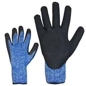 Gloves, cut resistancy 5, Nitrile coatind with thermo lining 10