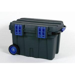 Įrankių dėžė su ratukais ToolChest 75 juoda/mėlyna, Raaco