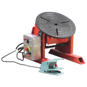 Welding positioner ECO2, max. horizontal load 150kg, Javac