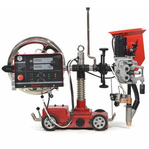 Welding tractor with power source, Javac