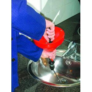 Устройство для чистки труб ROSPI 10 H+E Plus, спираль 10ммx10м, ROTHENBE