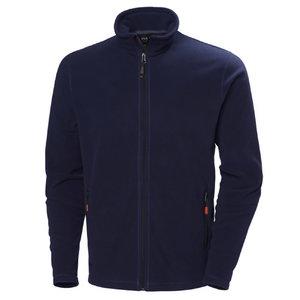 Flīsa jaka OXFORD, tumši zila L
