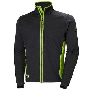 Džemperis MAGNI, juoda/žalia XL, Helly Hansen WorkWear