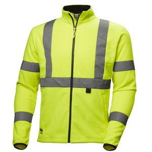 Fliisjakk Addvis kõrgnähtav CL3, kollane, Helly Hansen WorkWear
