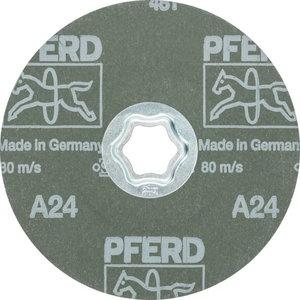 Fibro diskas CC-FS A 125mm P24, Pferd