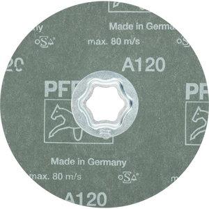 Fibro diskas CC-FS A 125mm P120, , Pferd