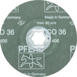 Fiber disc for steel CC-FS CO 125mm P36, Pferd