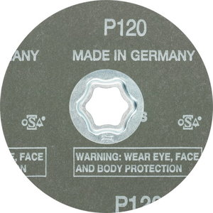 Fibro diskas CC-FS A-COOL 115mm P120, , Pferd