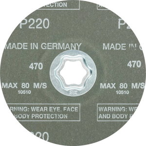CC-FS фибровый диск ceramic 125 A-COOL 220k, PFERD