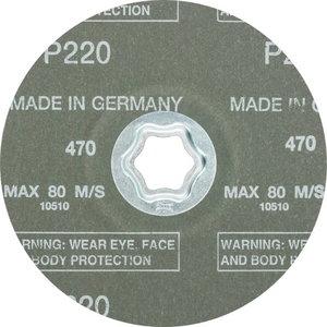 Fibro diskas CC-FS A-COOL 125mm P220, , Pferd