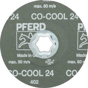 Fiiberketas INOX CC-FS CO-COOL 125mm P24, , Pferd
