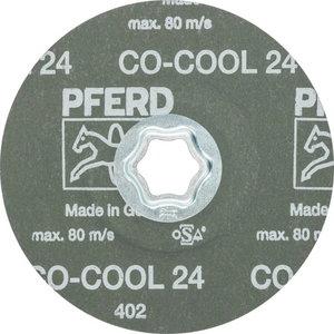 Fiber disc for INOX CC-FS CO-COOL 125mm P24, , Pferd