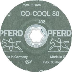 Abrazīvais disks 125mm P80 CO-COOL CC-FS, Pferd