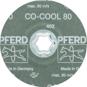 Fiiberketas 125mm P80 CO-COOL CC-FS, Pferd