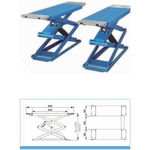 Double Scissor lift 7230A, Best