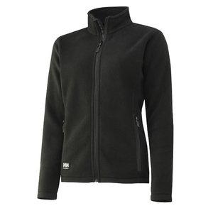 Luna woman fleece jacket, black L, , Helly Hansen WorkWear