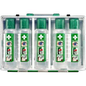Eye Wash (5 x 500 ml) in a portable case, Cederroth