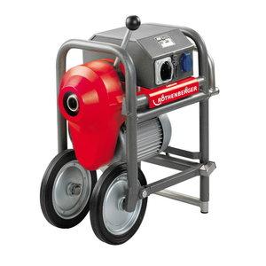 Torupuhastaja 50-250mm R100SP 1,4kw ilma lisavarustuseta, Rothenberger