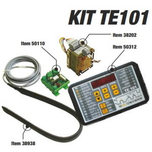 Welding control unit kit TE101 with transducer, Tecna S.p.A.