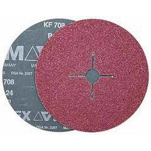 шлифовальный фибровый диск  230 мм A120 KF708, VSM