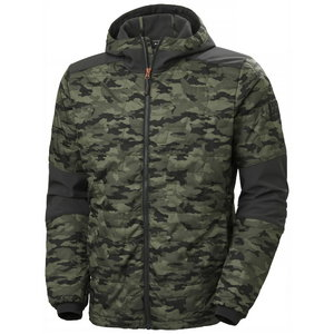 Jacket hooded Kensington Lifaloft, Camo 2XL, , Helly Hansen WorkWear