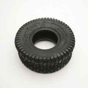 TIRE:15X6X6 SQ SHOULDER, MTD