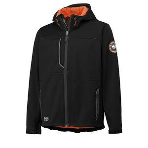 Jacket hooded Leon, black M, Helly Hansen WorkWear
