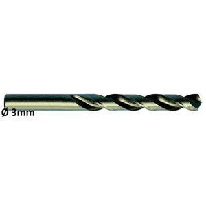 Metallipuur Ø3,0mm HSS-E, Co 5 DIN 338 VA 10tk, Exact