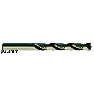 Metallipuur Ø3,3mm HSS-E, Co 5 DIN 338 VA 10tk, Exact