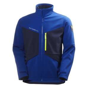 Softshell jaka AKER, cobalt/evening blue L, Helly Hansen WorkWear