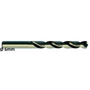 Metallipuur Ø6,0mm HSS-E, Co 5 DIN 338 VA 10tk, Exact