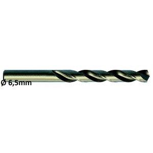 Metallipuur Ø6,5mm HSS-E, Co 5 DIN 338 VA 10tk, Exact